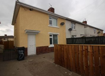 Thumbnail 2 bedroom semi-detached house for sale in Oxford Road, Stakeford