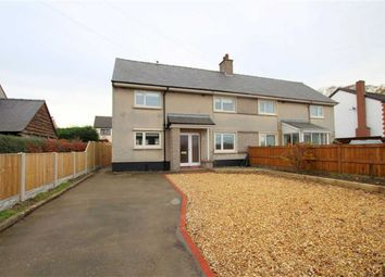 Thumbnail 3 bed semi-detached house to rent in Erw'r Llan, Nannerch, Flintshire