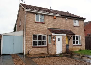 Thumbnail 3 bed semi-detached house for sale in Manor Drive, Anstey Heights