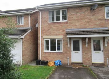 Thumbnail 2 bed end terrace house to rent in Llys Eglwys, Maes-Yr-Hendre, Broadlands, Bridgend