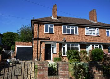 Thumbnail 3 bedroom semi-detached house for sale in The Manor Drive, Worcester Park
