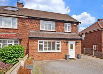 Thumbnail 4 bed semi-detached house for sale in Felstead Road, Loughton, Essex