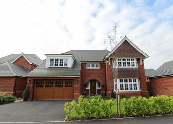 Thumbnail 5 bed detached house for sale in Hartford, Chester Road, Northwich