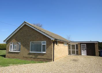 Thumbnail 3 bedroom bungalow to rent in The Green, West Row, Bury St. Edmunds