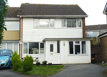 Thumbnail 3 bedroom end terrace house for sale in Harberton Close, Paignton