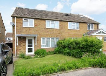 Thumbnail 4 bed semi-detached house for sale in Tennyson Close, Crawley