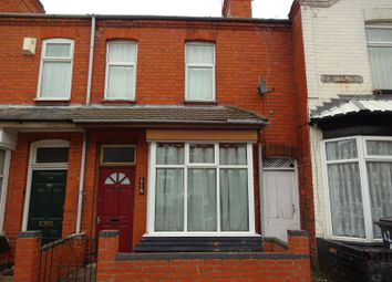 Thumbnail 2 bed terraced house for sale in 118 Danvers Road, Off Narborough Road, Leicester