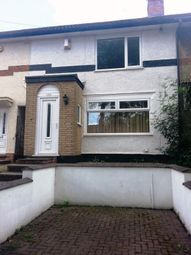 Thumbnail 3 bed terraced house to rent in Harviington Road, Birmingham