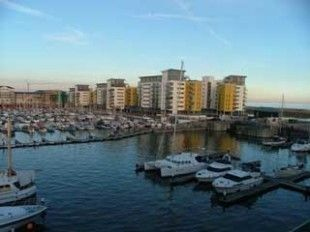 Thumbnail 2 bed flat to rent in Midway Quay, Sovereign Harbour, Eastbourne
