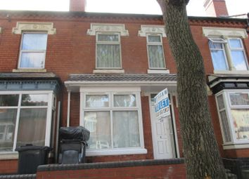 Thumbnail 3 bed shared accommodation to rent in Greenhill Road, Handsworth