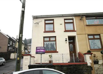Thumbnail 3 bedroom end terrace house for sale in Evans Terrace, Blaenclydach, Tonypandy