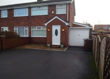 Thumbnail 3 bed semi-detached house to rent in Manion Avenue, Lydiate, Liverpool