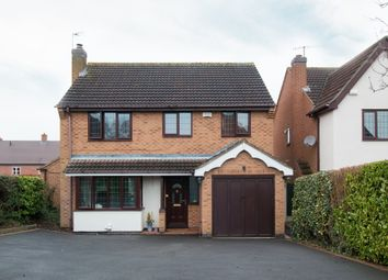 Thumbnail 4 bed detached house to rent in Fox Road, Castle Donington, Derby