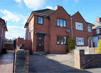 Thumbnail 3 bed semi-detached house for sale in Margaret Road, Wednesbury