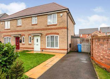 Thumbnail 3 bed semi-detached house for sale in Raffia Way, Walton, Liverpool, Merseyside