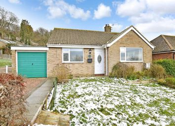 Thumbnail 2 bed detached bungalow for sale in Dover Road, Folkestone, Kent