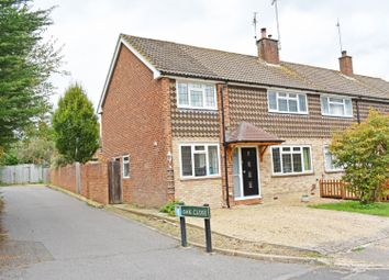 Thumbnail 3 bed semi-detached house for sale in The Glebe, Cranleigh