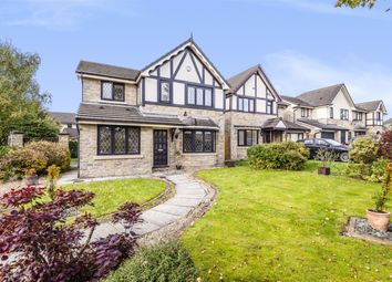 Thumbnail 4 bed detached house for sale in Godmond Hall Drive, Worsley, Manchester