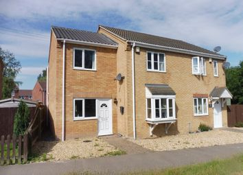 Thumbnail 3 bed semi-detached house for sale in Isle Road, Outwell, Wisbech