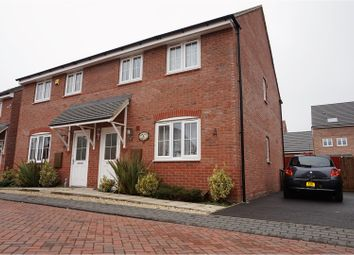 Thumbnail 3 bed semi-detached house for sale in Keel Close, Wigston