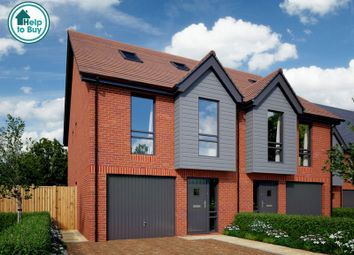 Thumbnail 4 bed semi-detached house for sale in The Chestnut, Henwick View, Thatcham, Berkshire