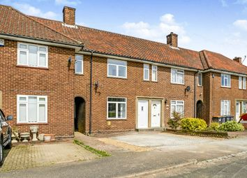 Thumbnail 3 bedroom terraced house for sale in Montgomery Close, Stewartby, Bedford