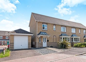 Thumbnail 2 bedroom semi-detached house for sale in Wiltshire Crescent, Worting, Basingstoke