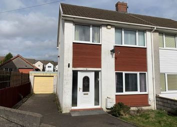Thumbnail 3 bed semi-detached house for sale in Harlington Road, Cwmdu, Swansea