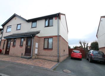 Thumbnail 3 bed semi-detached house for sale in Poplar Close, Plympton, Plymouth