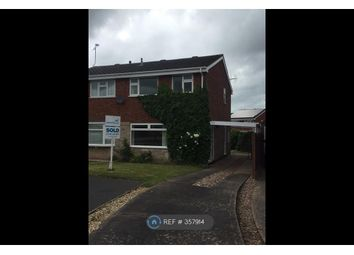 Thumbnail 3 bed semi-detached house to rent in Greylarch Lane, Stafford