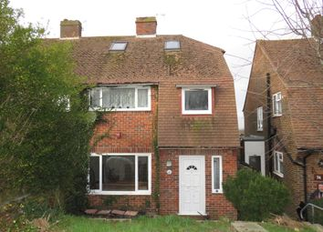 Thumbnail 4 bed semi-detached house for sale in Churchill Avenue, Hastings