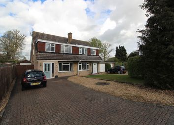 Thumbnail Semi-detached house for sale in Carlton Close, Newport Pagnell