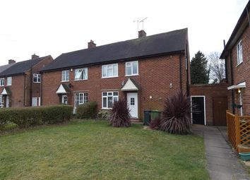 Thumbnail 1 bed flat to rent in Highwood Avenue, Solihull, Solihull