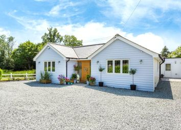 Thumbnail 4 bed detached bungalow for sale in Brentwood Road, Ingrave, Brentwood, Essex