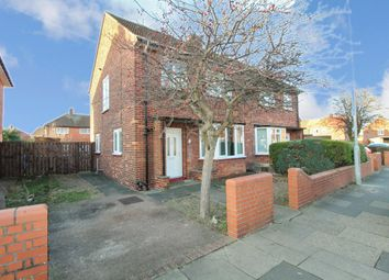 Thumbnail 3 bed semi-detached house for sale in Newsham Road, Blyth
