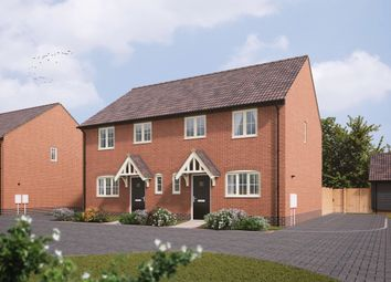 Thumbnail 3 bedroom semi-detached house for sale in Old Station Road, Mendlesham, Stowmarket