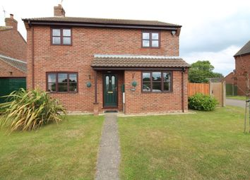 Thumbnail 3 bed detached house for sale in Back Lane, Catfield, Great Yarmouth