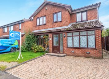 Thumbnail 4 bed detached house to rent in Vincent Close, Old Hall, Warrington