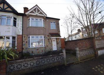 Thumbnail 3 bed end terrace house for sale in Cavenham Gardens, Ilford