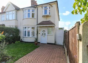Thumbnail 3 bed end terrace house for sale in Walsingham Road, Mitcham