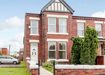Thumbnail 3 bedroom end terrace house for sale in Claridge Road, Chorlton, Manchester