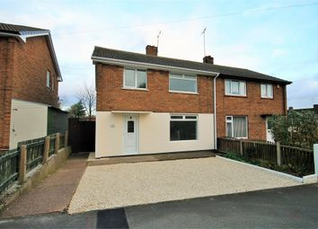 Thumbnail 3 bed semi-detached house for sale in Laxton Drive, Meden Vale, Mansfield, Nottinghamshire