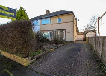 Thumbnail 3 bed semi-detached house for sale in Central Drive, Bramhall, Stockport