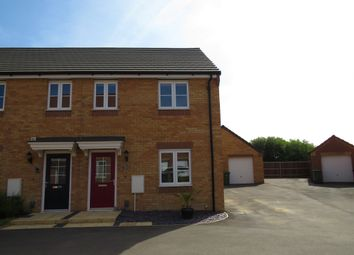 Thumbnail 3 bed semi-detached house for sale in Cowslip Close, Whittlesey, Peterborough