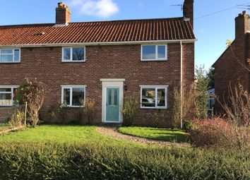 Thumbnail 3 bed semi-detached house for sale in Gissing Road, Burston, Diss