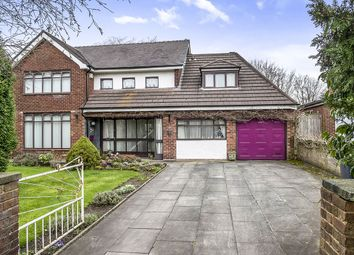 Thumbnail 4 bed detached house for sale in Church Road, Skelmersdale