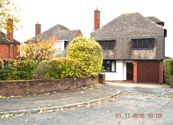 Thumbnail 4 bed detached house to rent in The Grove, Sutton Coldfield