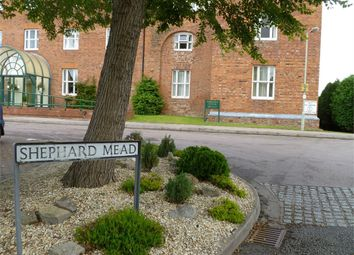 Thumbnail 2 bed flat for sale in Webber House, Shephard Mead, Tewkesbury