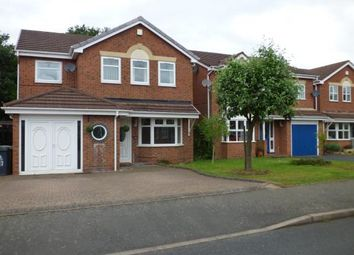 Thumbnail 4 bed detached house for sale in Fairburn Crescent, Pelsall, Walsall, West Midlands