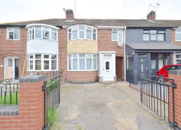 Thumbnail 3 bed terraced house for sale in Greenwood Road, Humberstone, Leicester